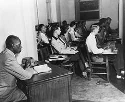 Segregation Movements - Education and Schools in the 1930's